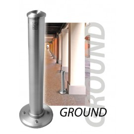 GROUND floor standing ashtray
